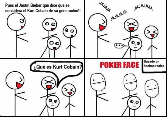 Poker face que significa