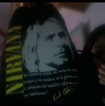 Kurt Cobain backpack
