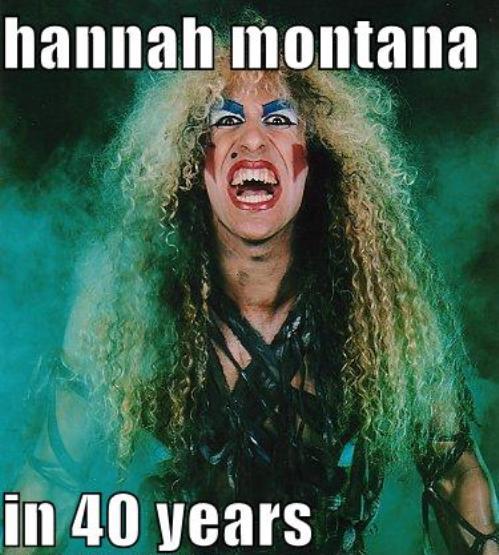 Hannah-Montana meme