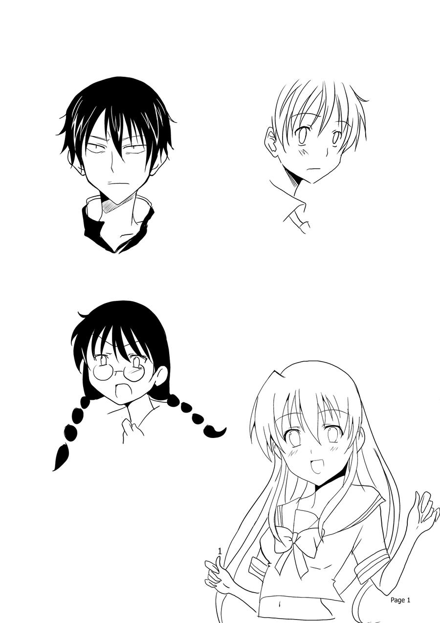 Character Design Manga : Manga character design by salwa on deviantart