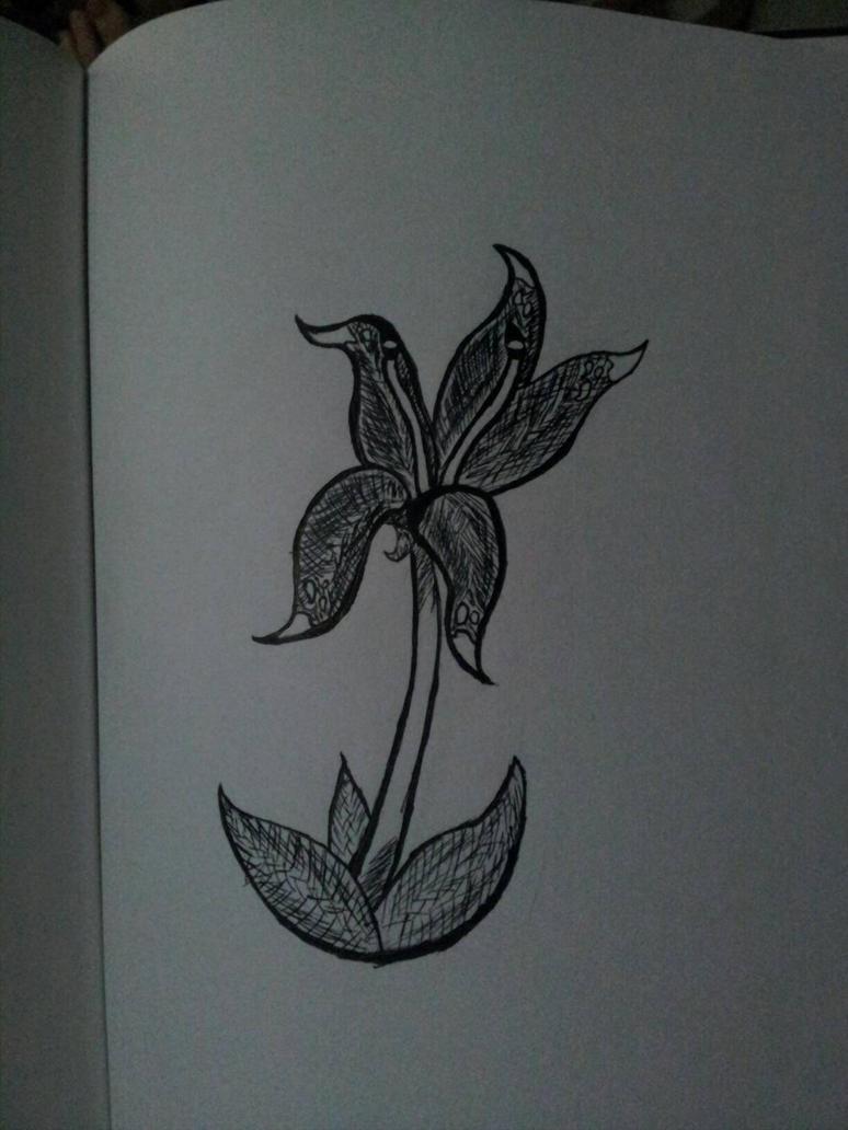 Artist's Powers bring forth Inktober Flowers by JetWaveWavewind