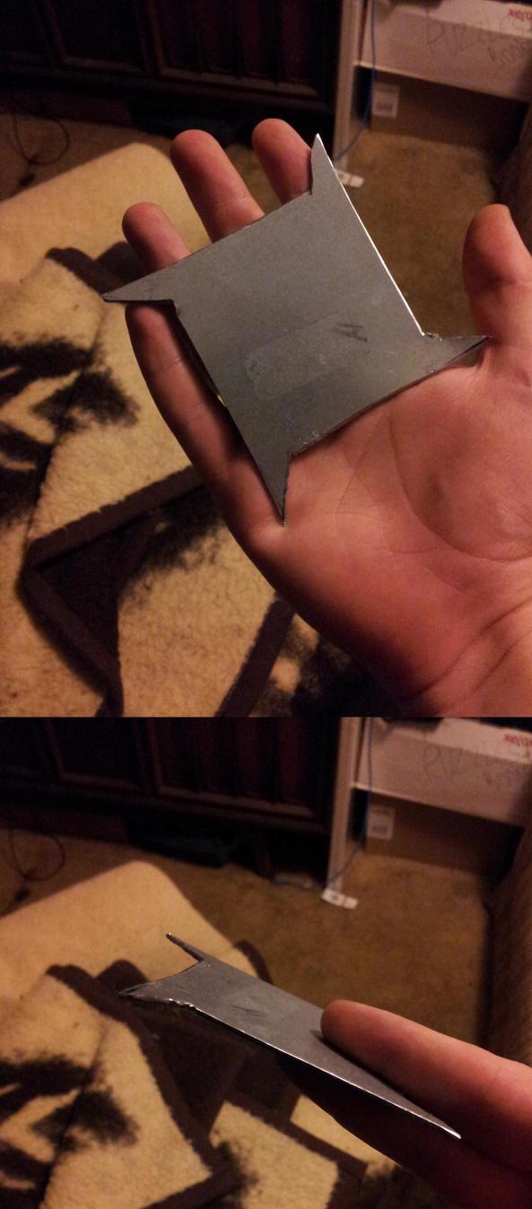 Homemade Shuriken by JetWaveWavewind