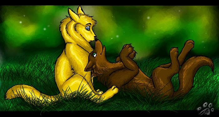 Playful Star by Saborcat