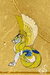 Egyptian Style Hirshama by Saborcat