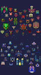 Spaceships: 60
