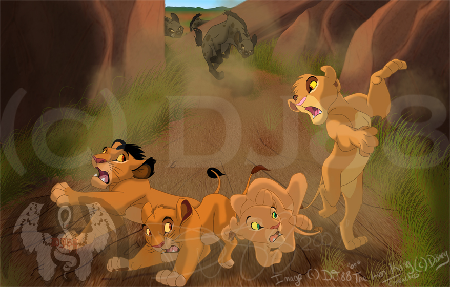 Disneyland! - The game! - Page 3 Cub_Chase_by_DJ88