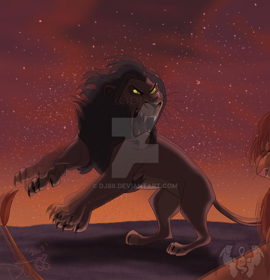 Scar Vs Simba By DJ88 On DeviantArt