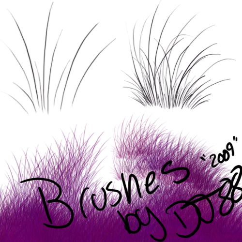 Grass brushes by DJ88