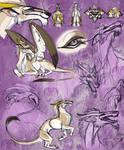 Fantasy Dragon Sketches