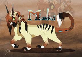 Commission p2-Maki by DJ88