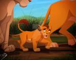 Kopa Nala and Simba