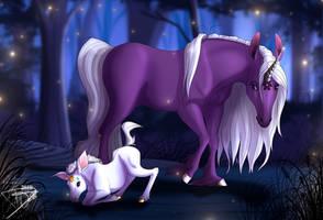 unicorn-skydancer08 Commission by DJ88