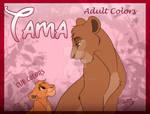 Tama adult and cub colors