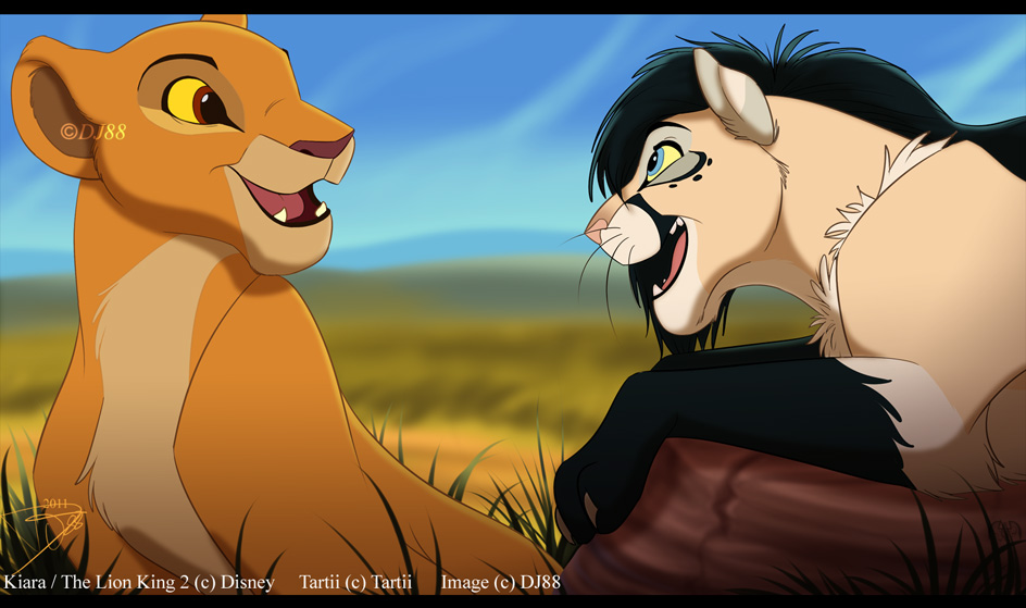The lion king 2 characters