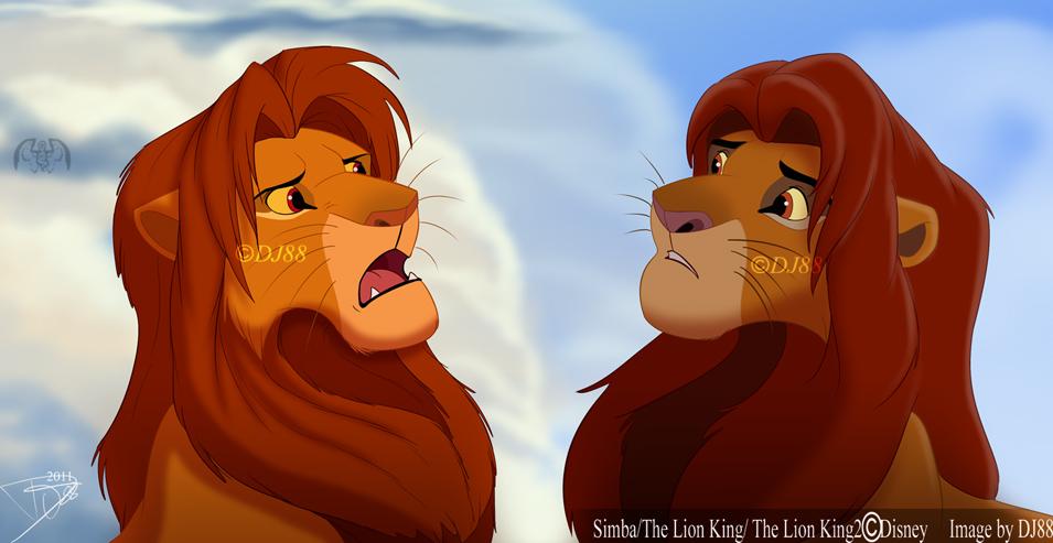 """Los ojos De Nala"" Simba_vs_simba_by_dj88-d4fgk0o"