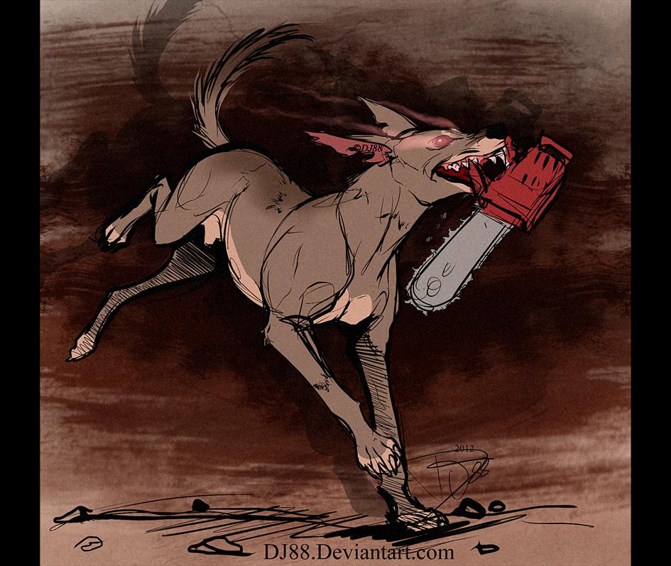 ChainsawDog sketch by DJ88