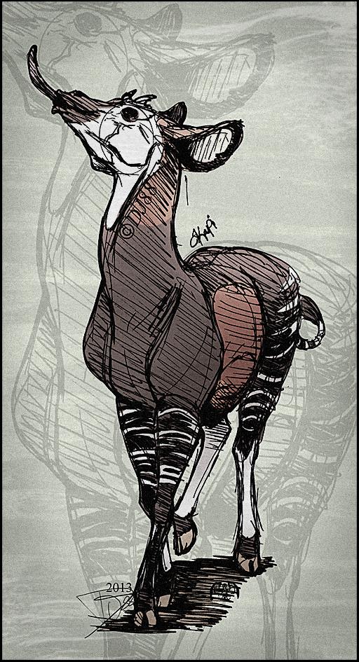 Okapi Pen by DJ88