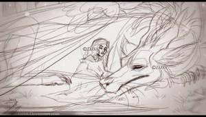 Nap -sketch- by DJ88