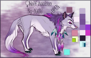 Female Wolf Auction -hold- by DJ88