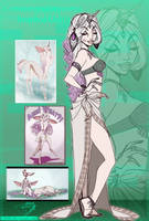Centauressalopicorna Inspired Outfit -First Draft- by DJ88