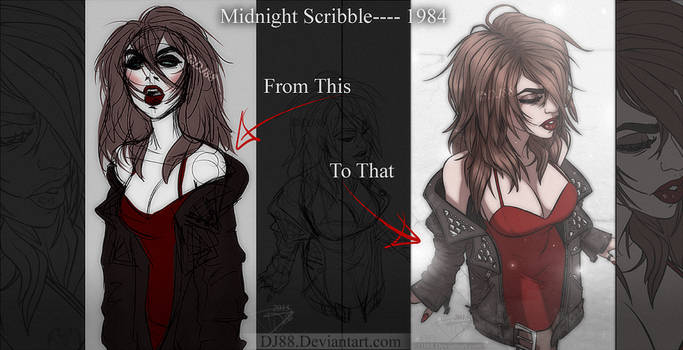 Midnight Scribble to 1984 -This to That-