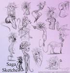 Saga Sketches -Commission-