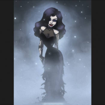Goth in Sparkle Mist by DJ88