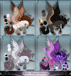 $40 Winged Unicorns Batch 1 by DJ88