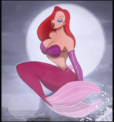 Siren Jessica Rabbit MerMay 2019