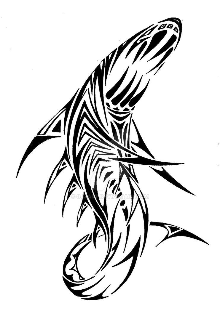 shark by GJZART