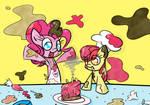 Applebloom and Pinkie Pie's Kitchen Time!