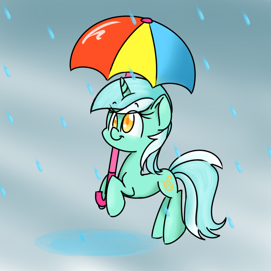 Lyra's Rainy Day by Lemon-Heartss