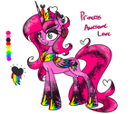 Princess Awesome Love (MY OC DO NOT STEAL)