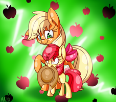 Apples remake! by Lemon-Heartss
