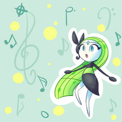 Meloetta by Lemon-Heartss