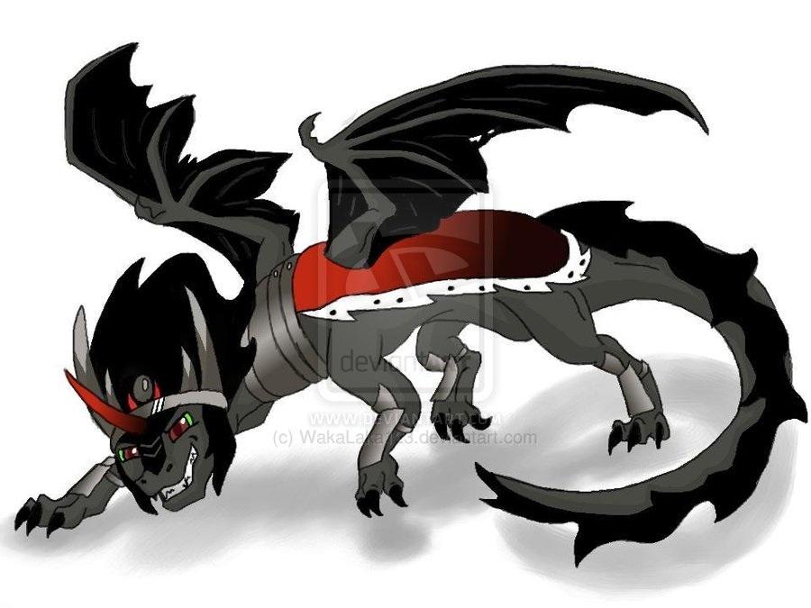 King Sombra The Dragon by WakaLaka123