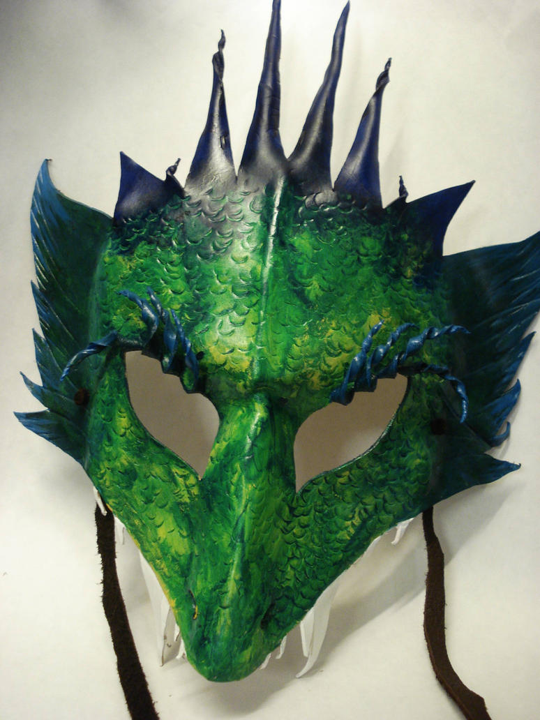 how to train your dragon mask template