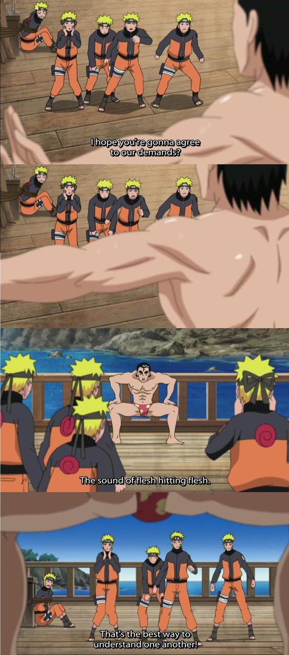 Naruto: Bara Love by PritzPritz