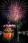 Australia Day Fireworks by Mickyjftw