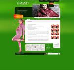 Fashion site subpage
