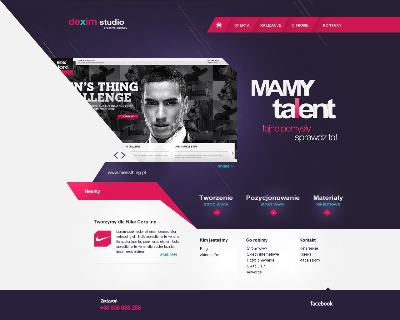 Agency site by dexx27