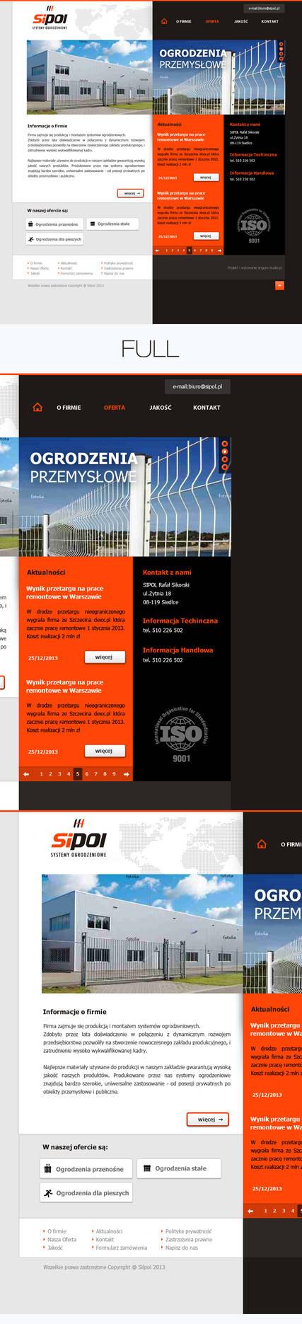 SilPol corporate webiste