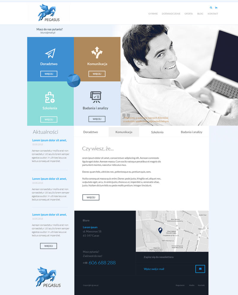 Corp site by dexx27