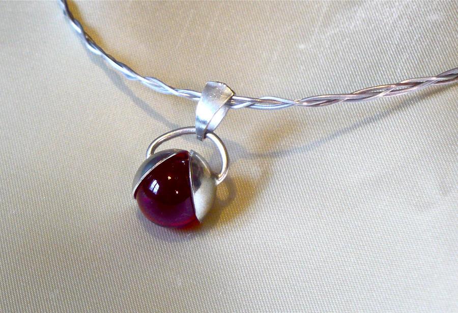 Violin String Necklace 25 by Kraynix