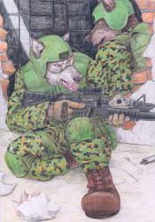 Soldiers by FerosBR
