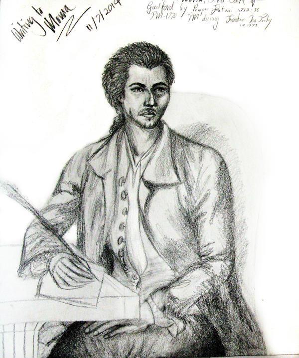 2 Hour Sketch: Luka Writing to Mama by Uranus-seventhsun