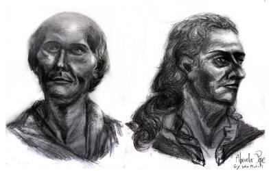 2 Hour Life Sketches wid Fat Pencil