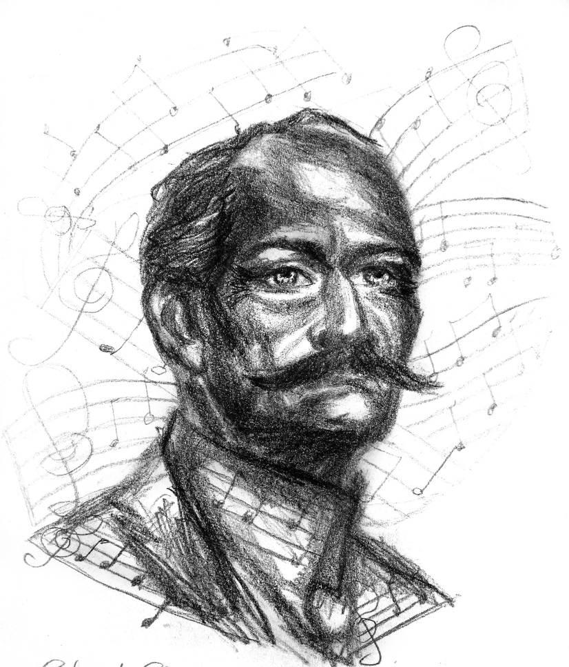 2 hr Life Sketch: Musical Eddie