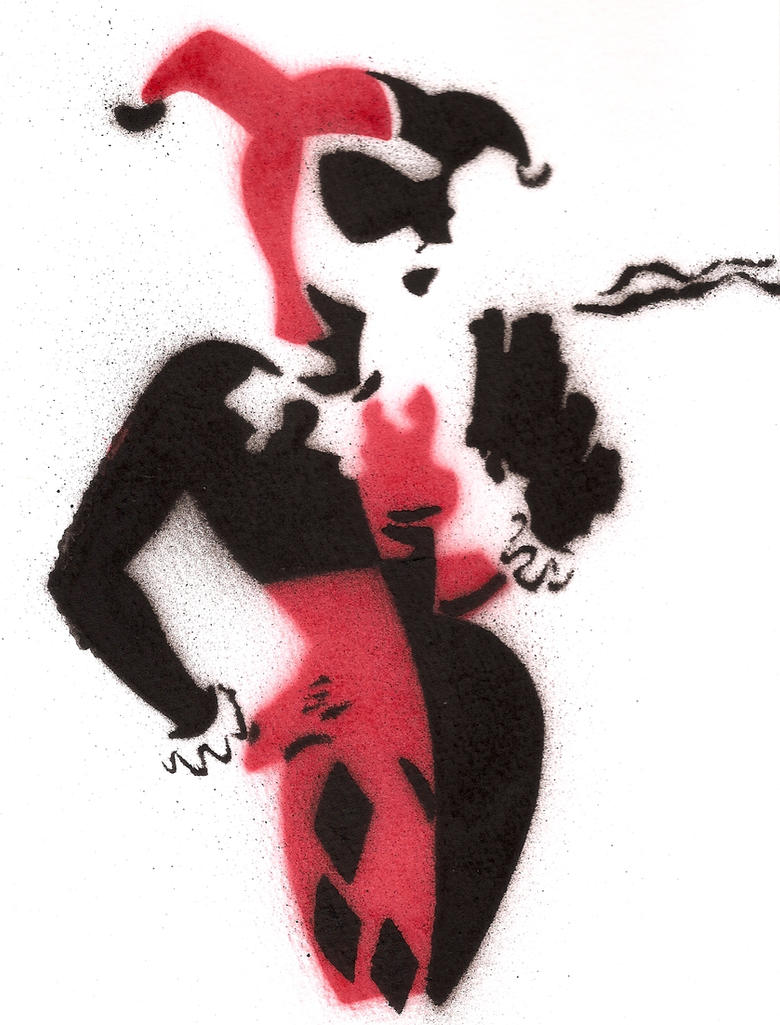 Harley Quinn by Superpiggy02