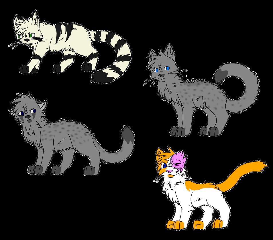 Warrior Cats Dead: Warrior Cats By LarsonCross On DeviantArt